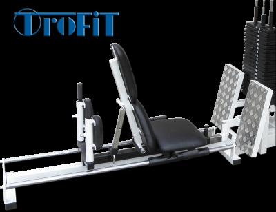 Legpress  s cihlovou zátěží s vozíkem na lineárních ložiskách